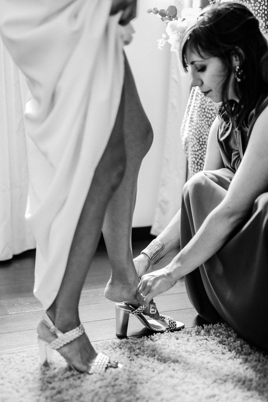 chaussures de mariage dorée ancenis pays de la loire