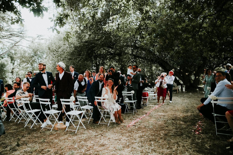 ceremonie laique mariage château de vair