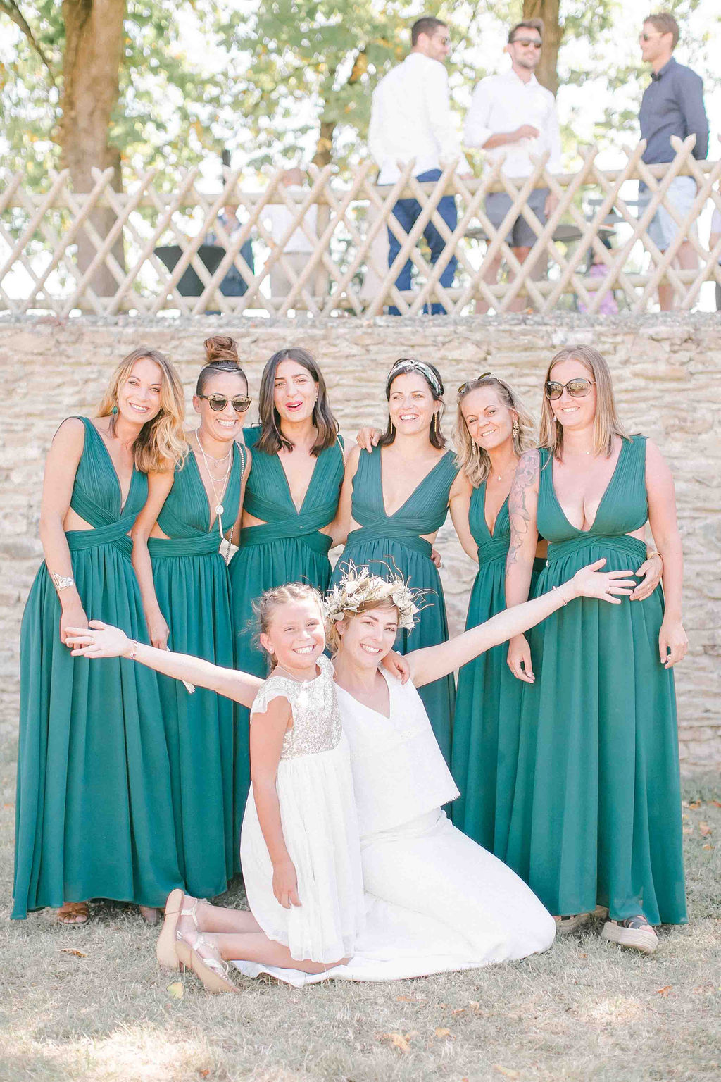 robes demoiselles d'honneurs mariage boheme angers