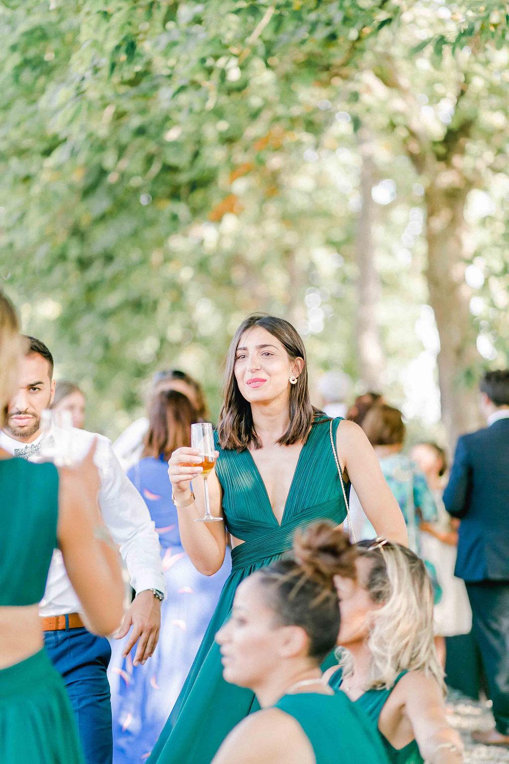 robe demoiselle d'honneur mariage moderne angers