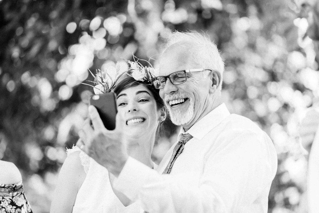 couronne de fleurs originale mariage
