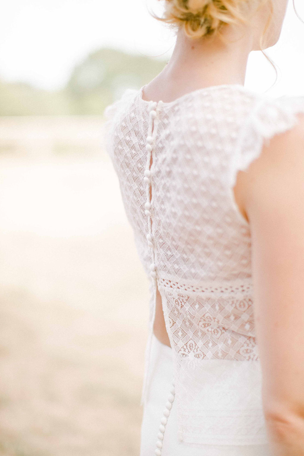 robe de mariage boheme dentelles moderne angers