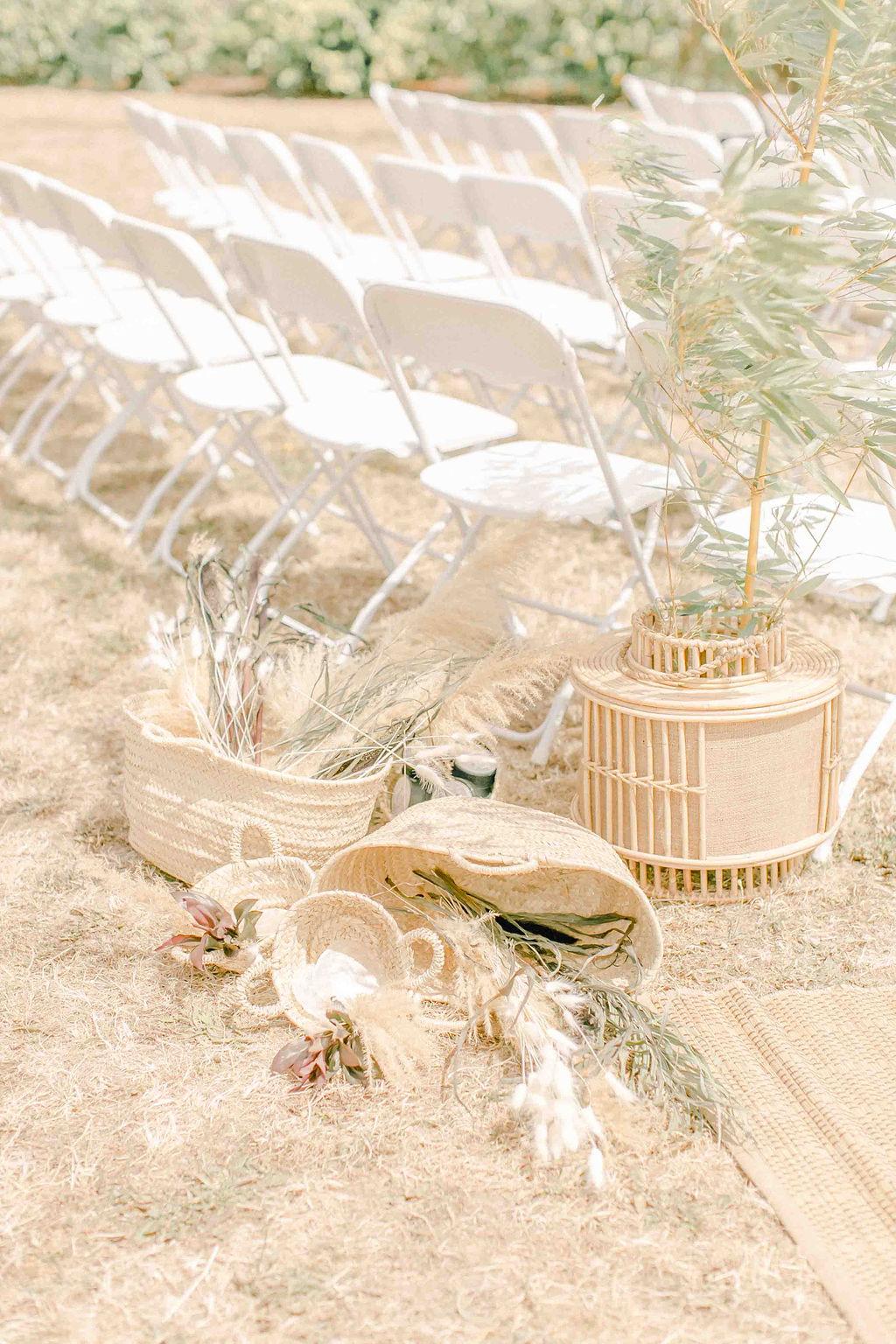 ceremonie laique angers decoration fleurs sechees