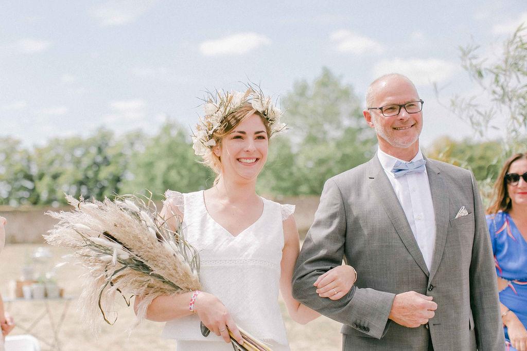 bouquet de mariee boheme mariage