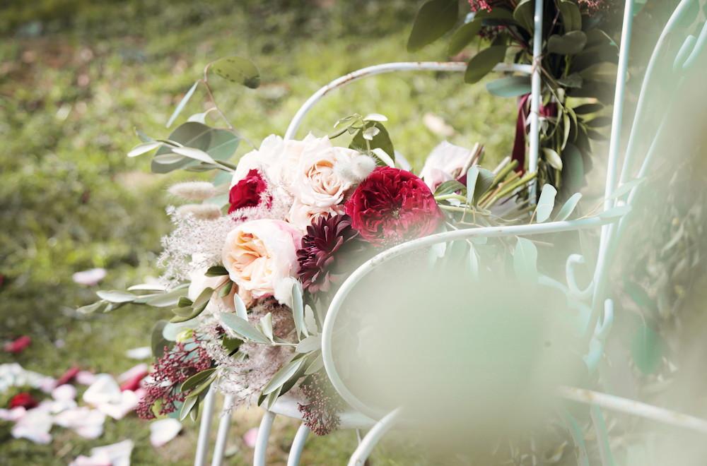 Bouquet de mariée champêtre chic