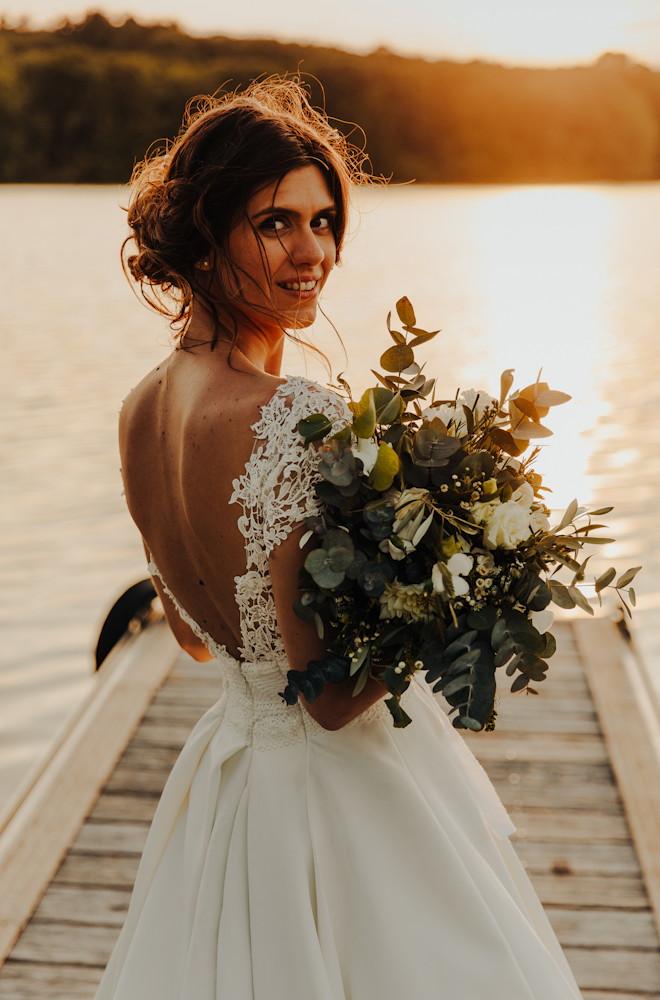 Bouquet de mariée nature sauvage