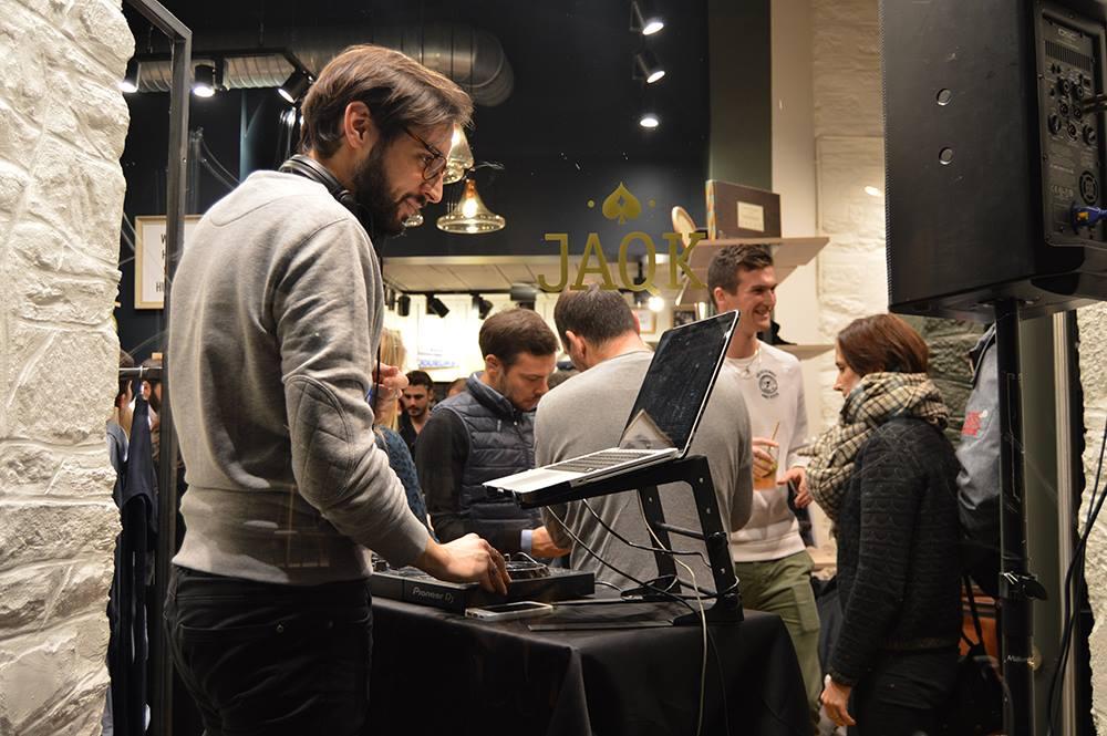 DJ mariage bar à vinyles tendance Rennes platines musique fête