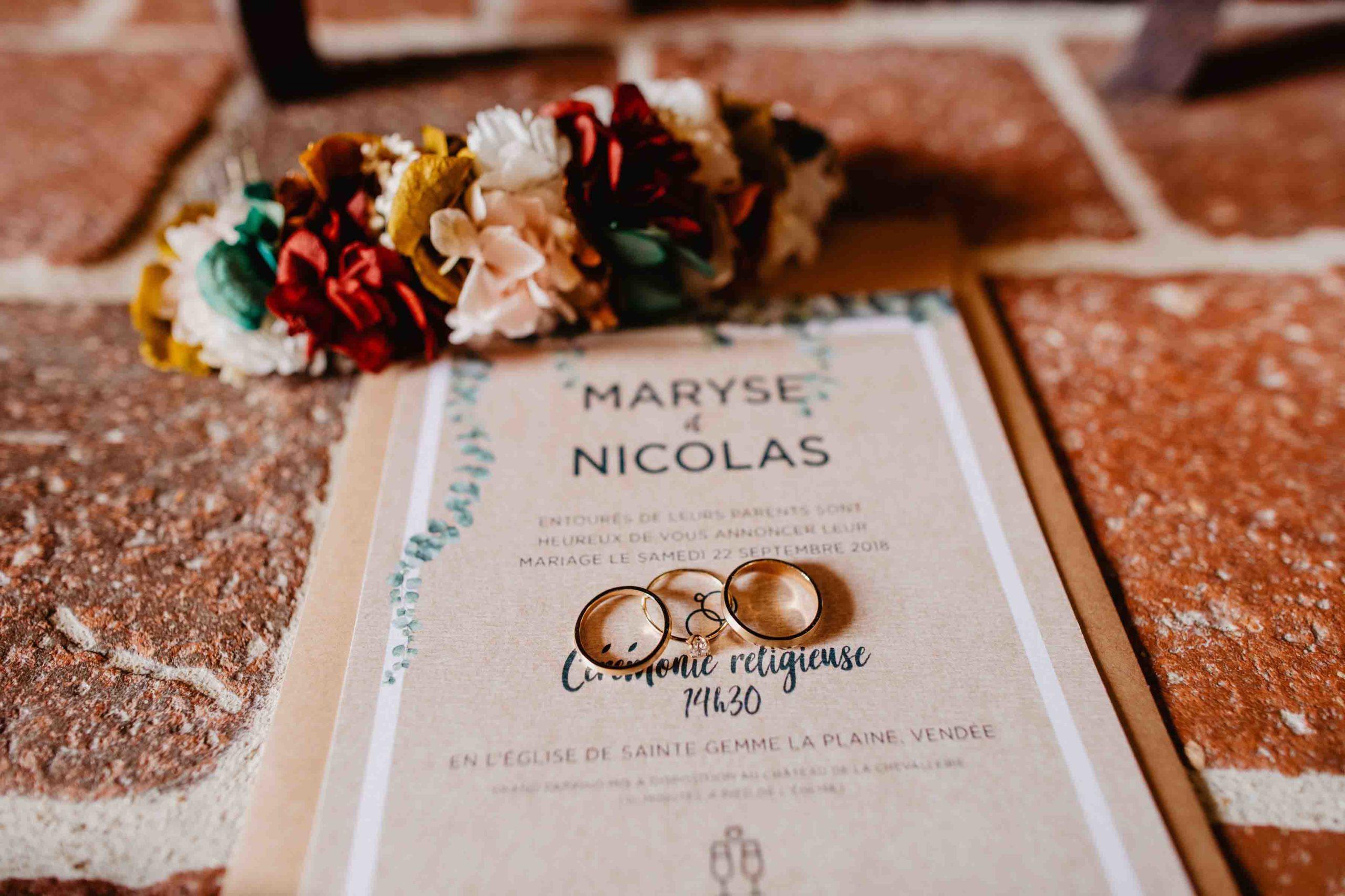 mariage automnal pays de la loire alliances