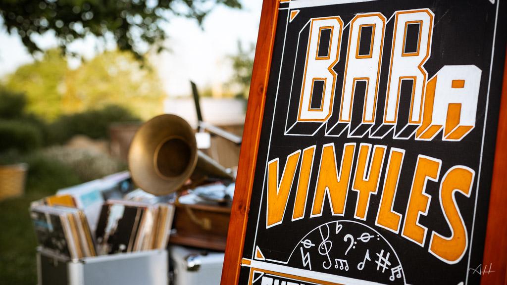 bar à vinyles rétro DJ mariage Pays de la loire musique