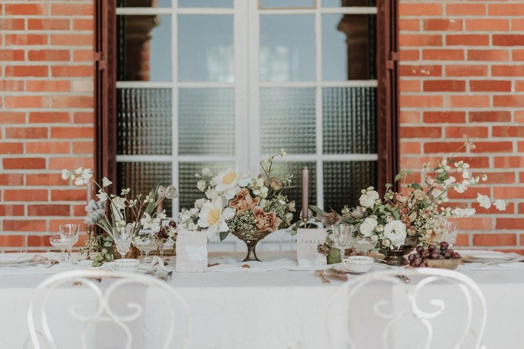 centres de tables fleuris fleuriste coresponsable mariage nantes