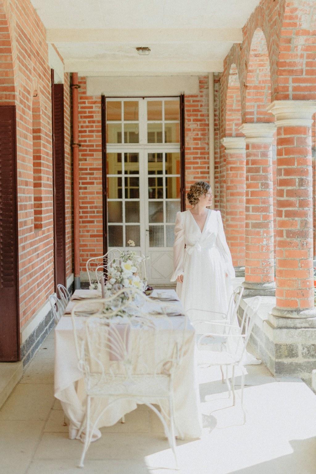 chateau de la panais domaine mariage boheme chic romantique nantes