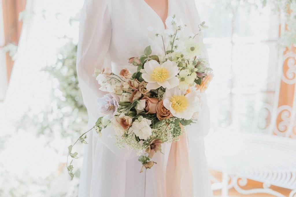 bouquet de mariee ecoresponsable printemps