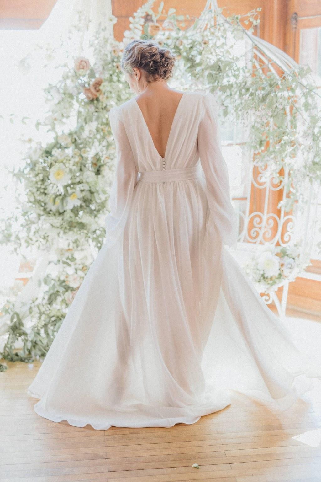 robe de mariee création sur mesure nantes