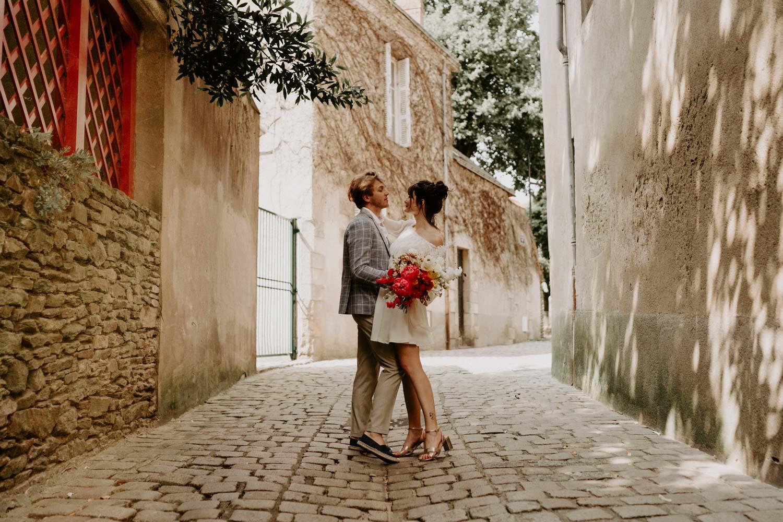 mariage dolce vita italien colore nantes