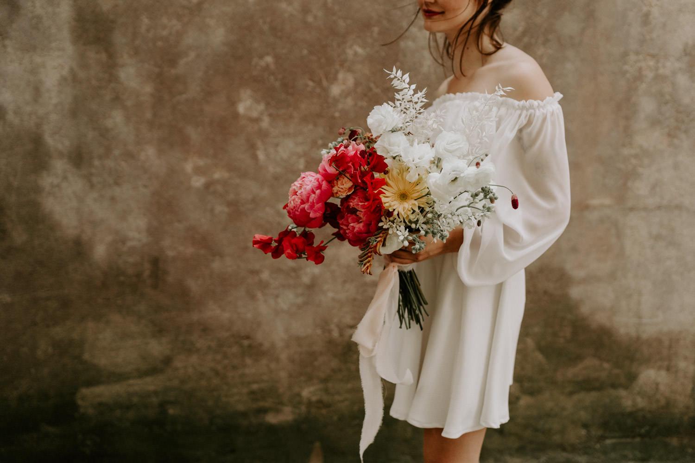 bouquet de mariage moderne nantes