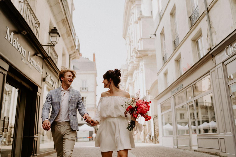 mariage moderne naturel nantes