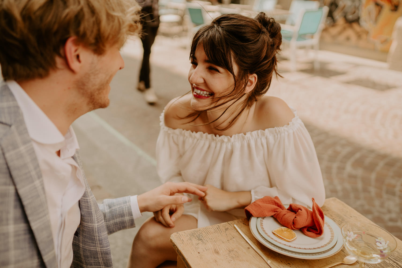 mariage moderne naturel decoration de mariage