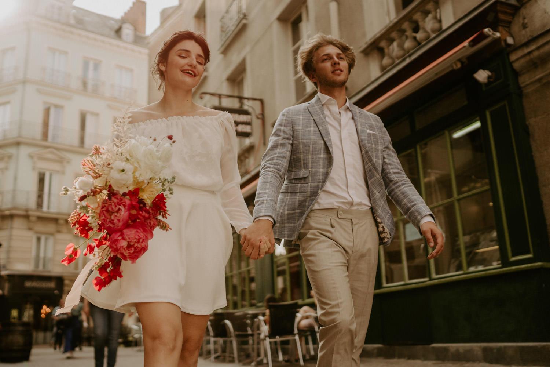 photographe de mariage moderne nantes