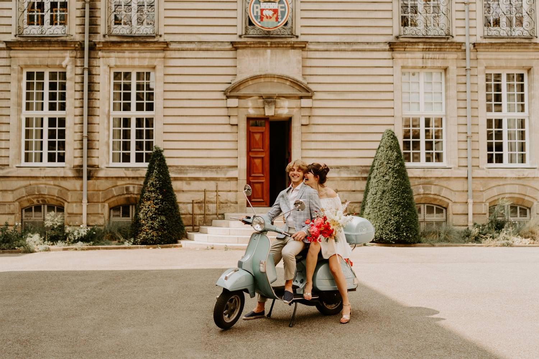mariage moderne mairie de nantes