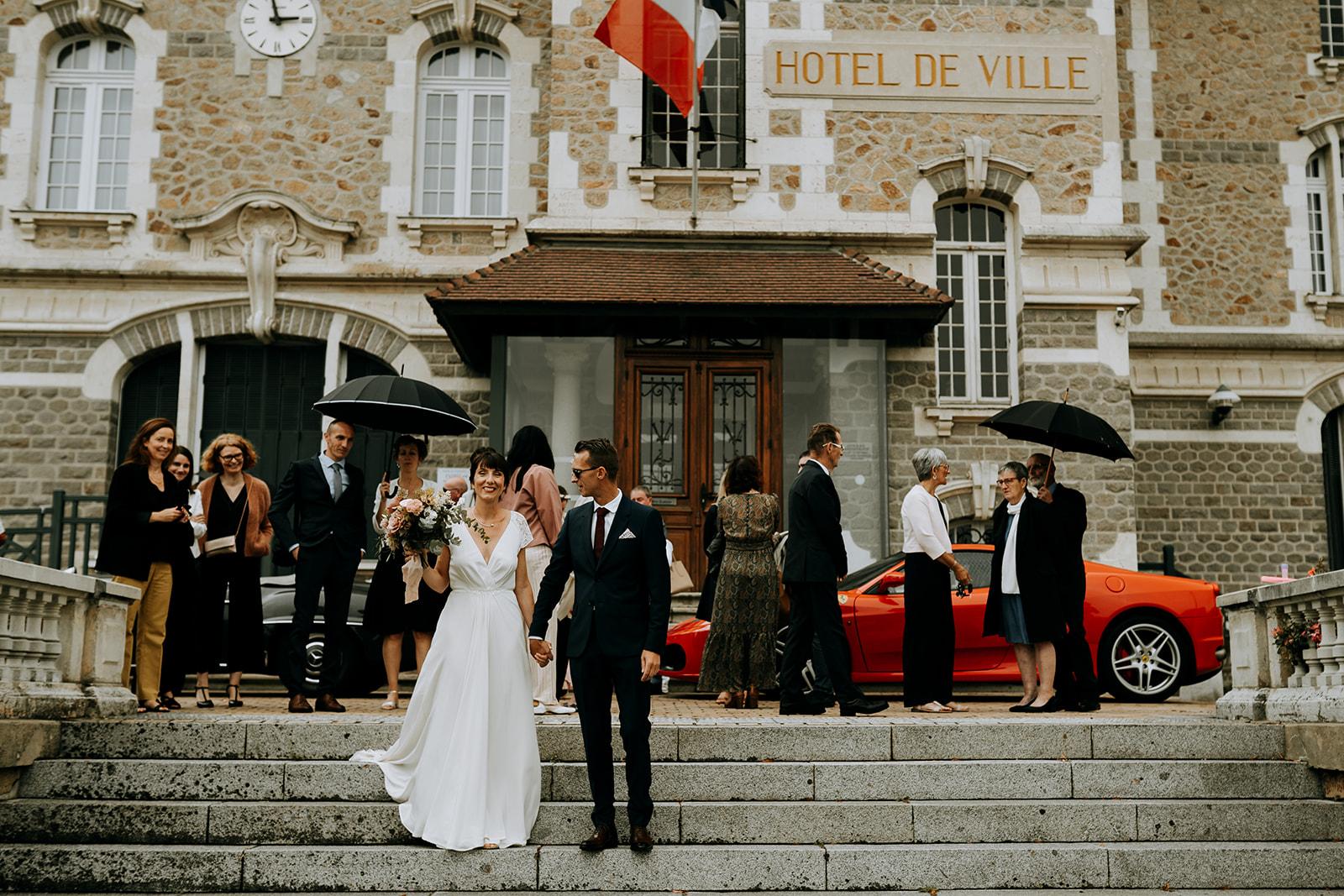 mariage chic mairie pornichet