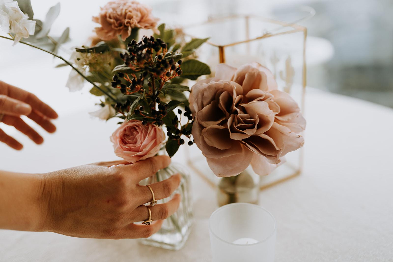 mariage décoratrice fleurs pornichet