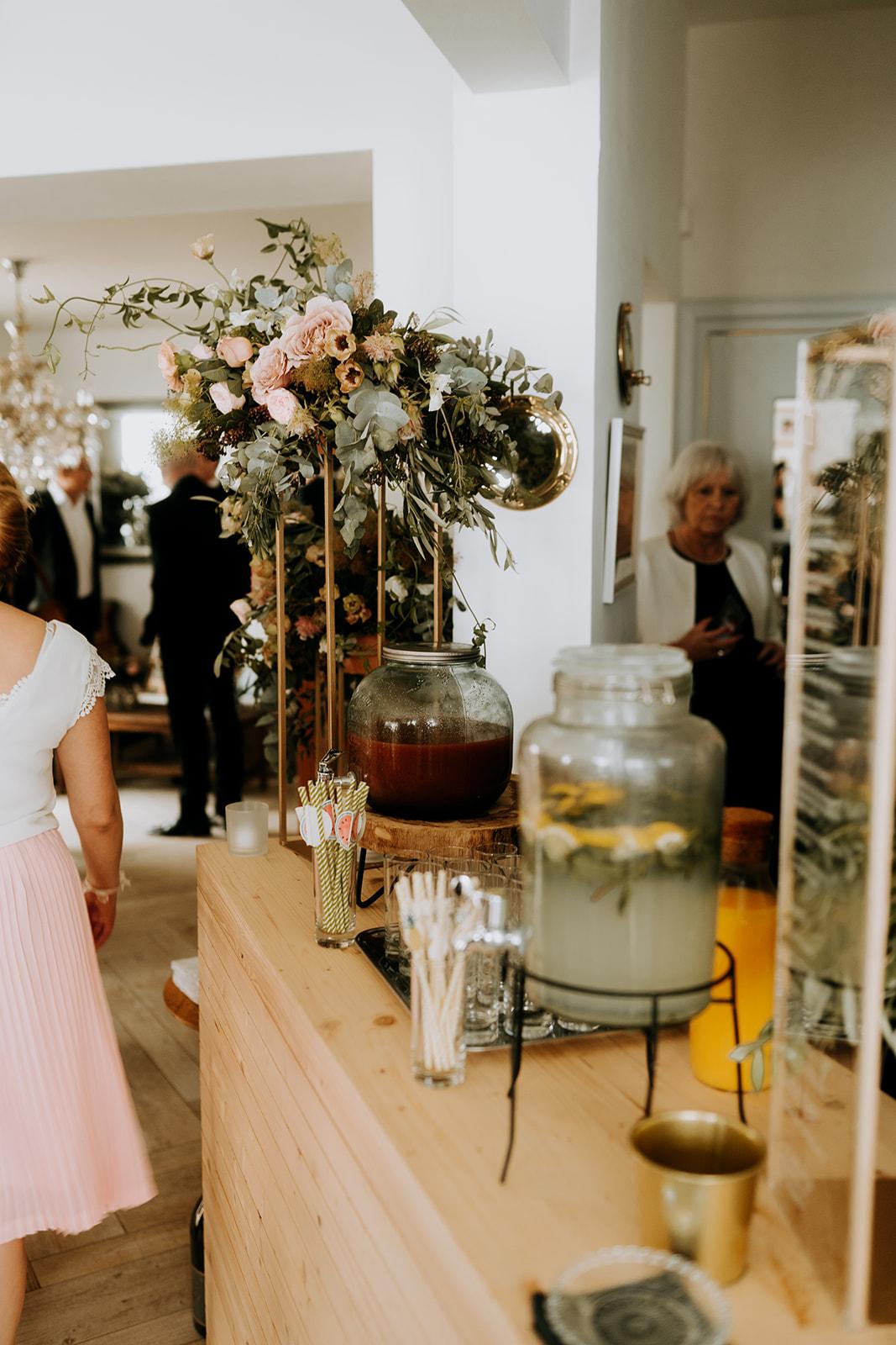 mariage decoration naturelle élégante pornichet