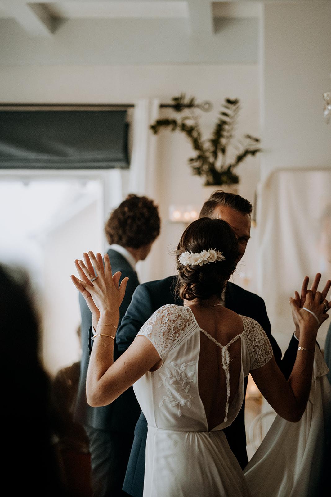 robe de mariee mariage pornichet Loire Atlantique