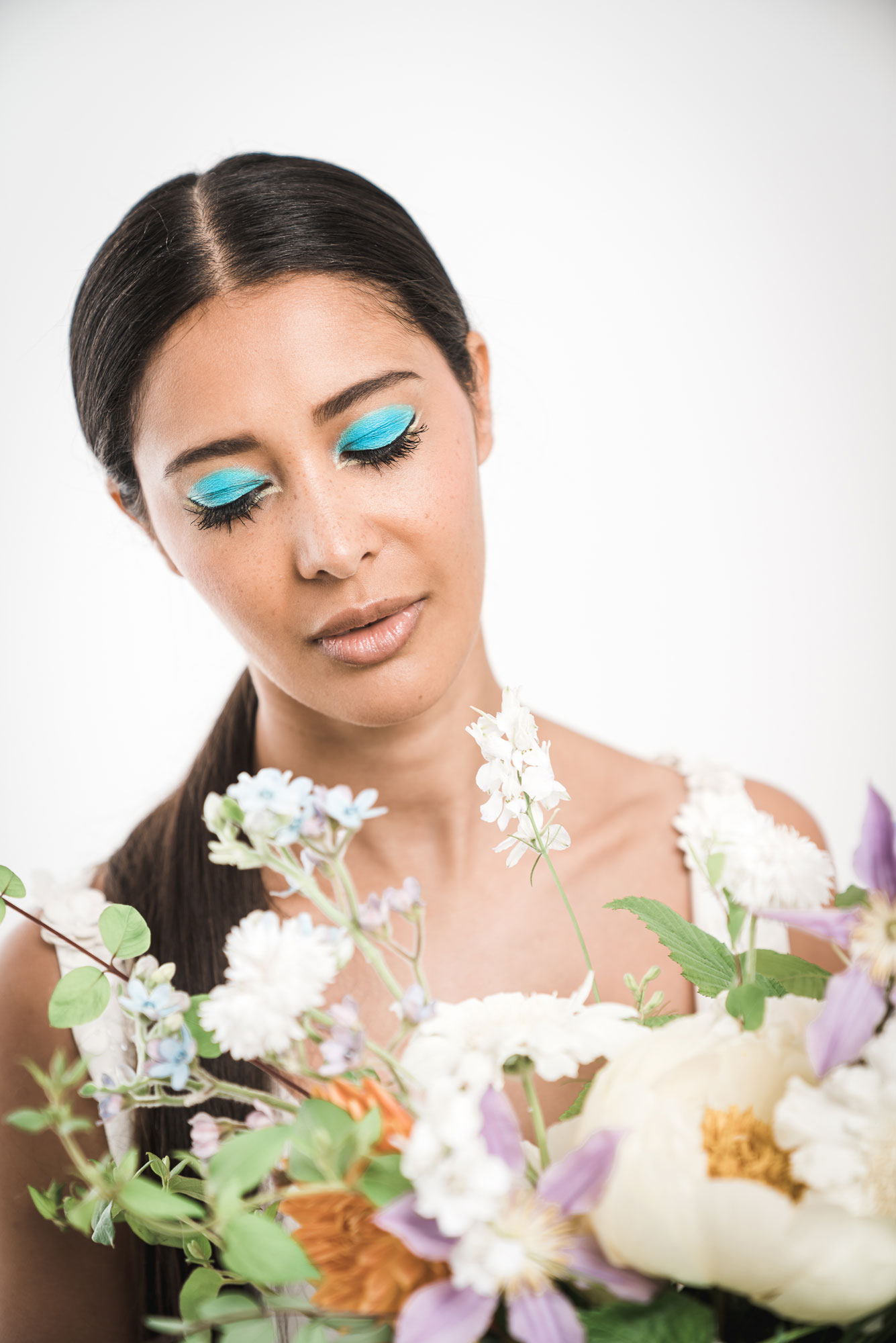 maquillage moderne colore nantes