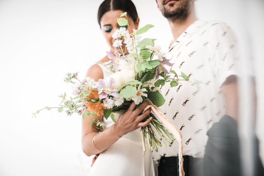mariage colore pastel moderne nantes