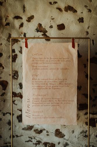 menu original mariage boheme nantes vendee pays de la loire