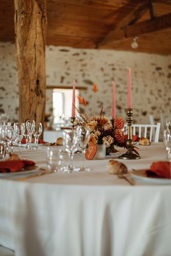 decoration de salle mariage boheme champetre nantes vendee pays de la loire
