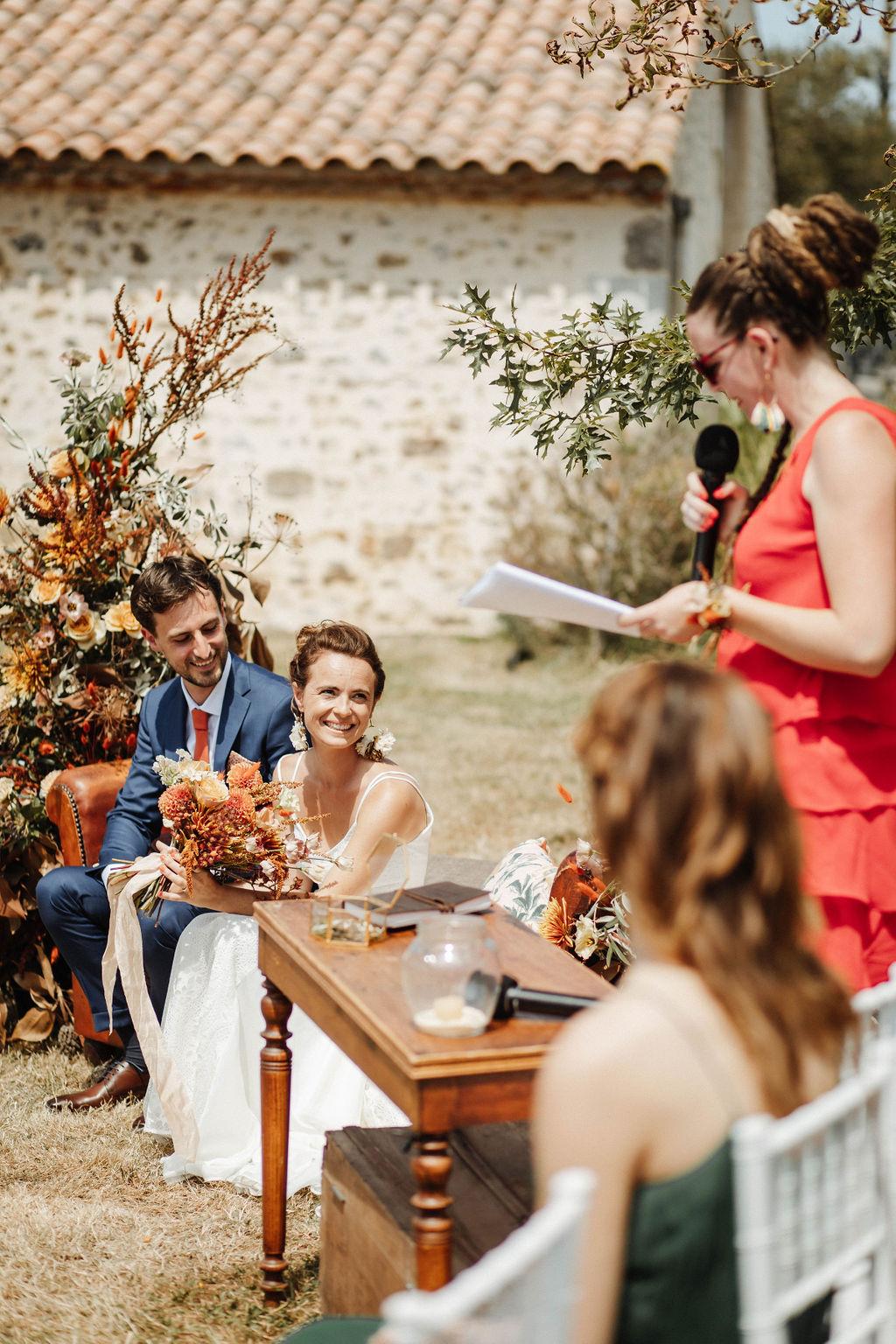 Mariage boheme Terra Cotta pays de la loire vendee nantes
