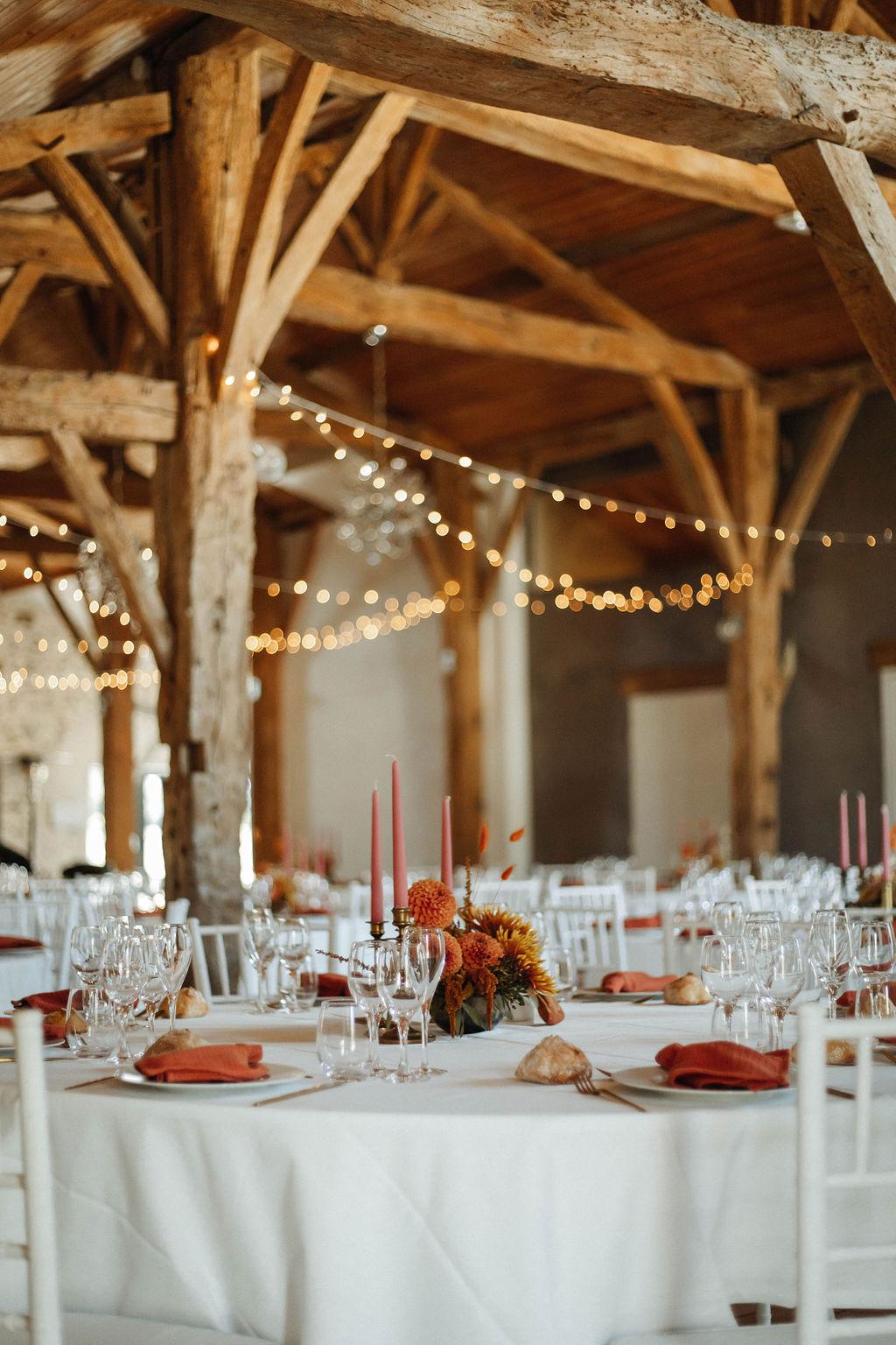 decoratrice mariage vendee pays de la loire domaine de la moinardiere lieu de réception