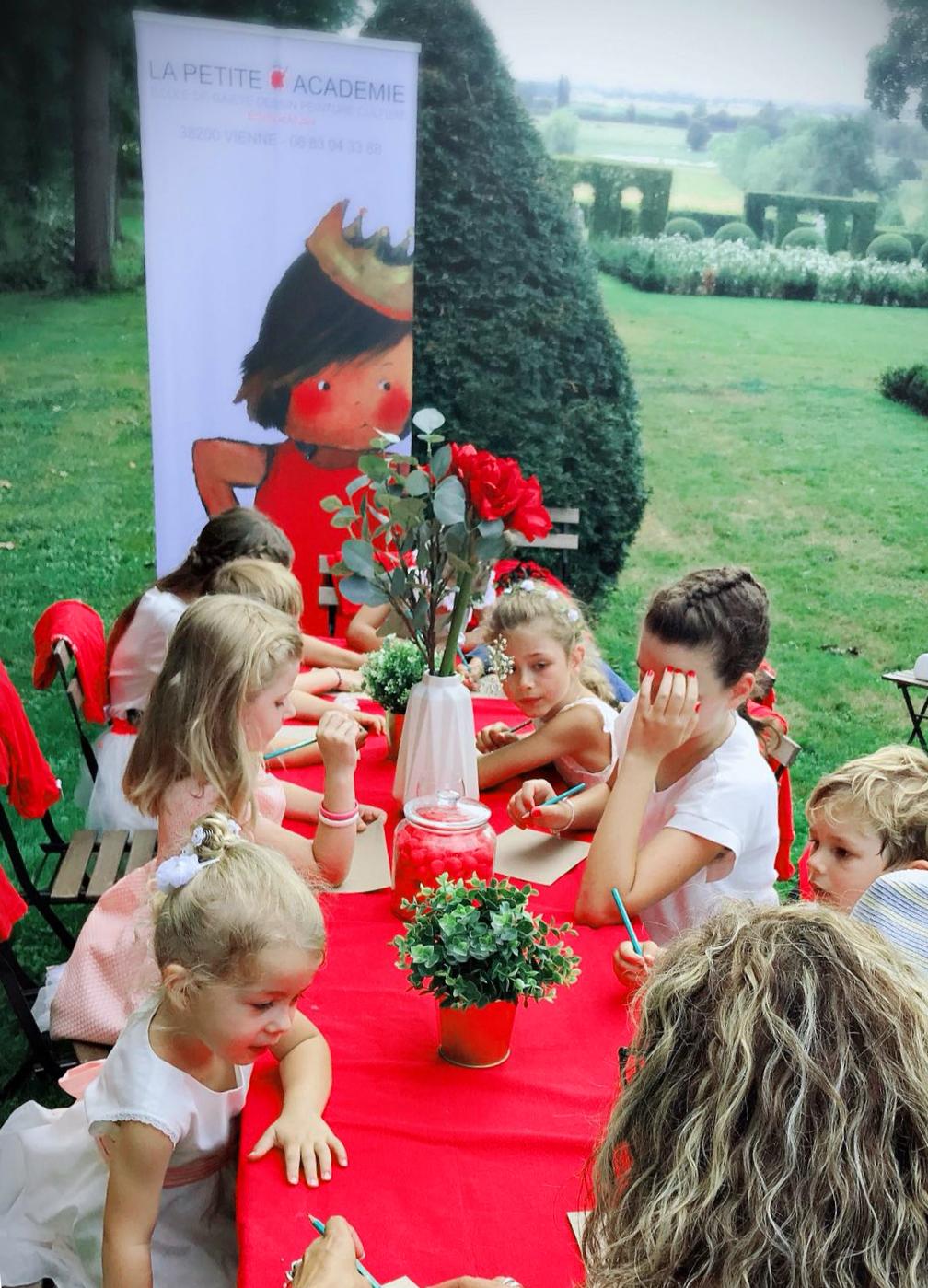 Animation atelier pour enfants mariage nantes pays de la loire