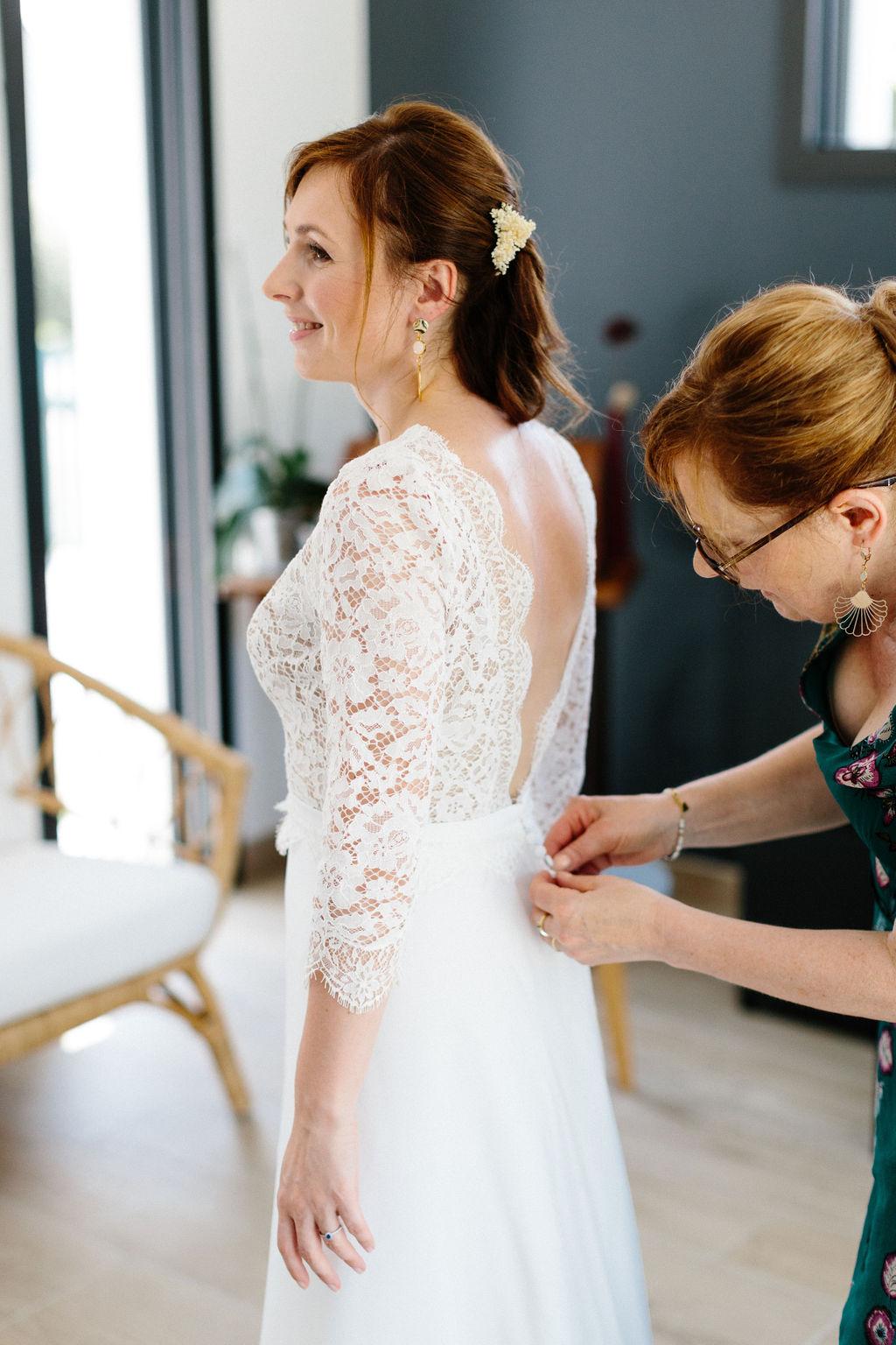 robe de mariage boheme nantes