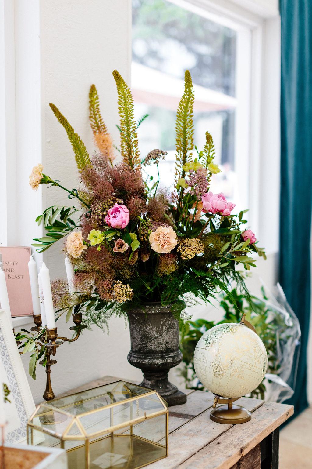 fleurs decoration florale mariage nantes