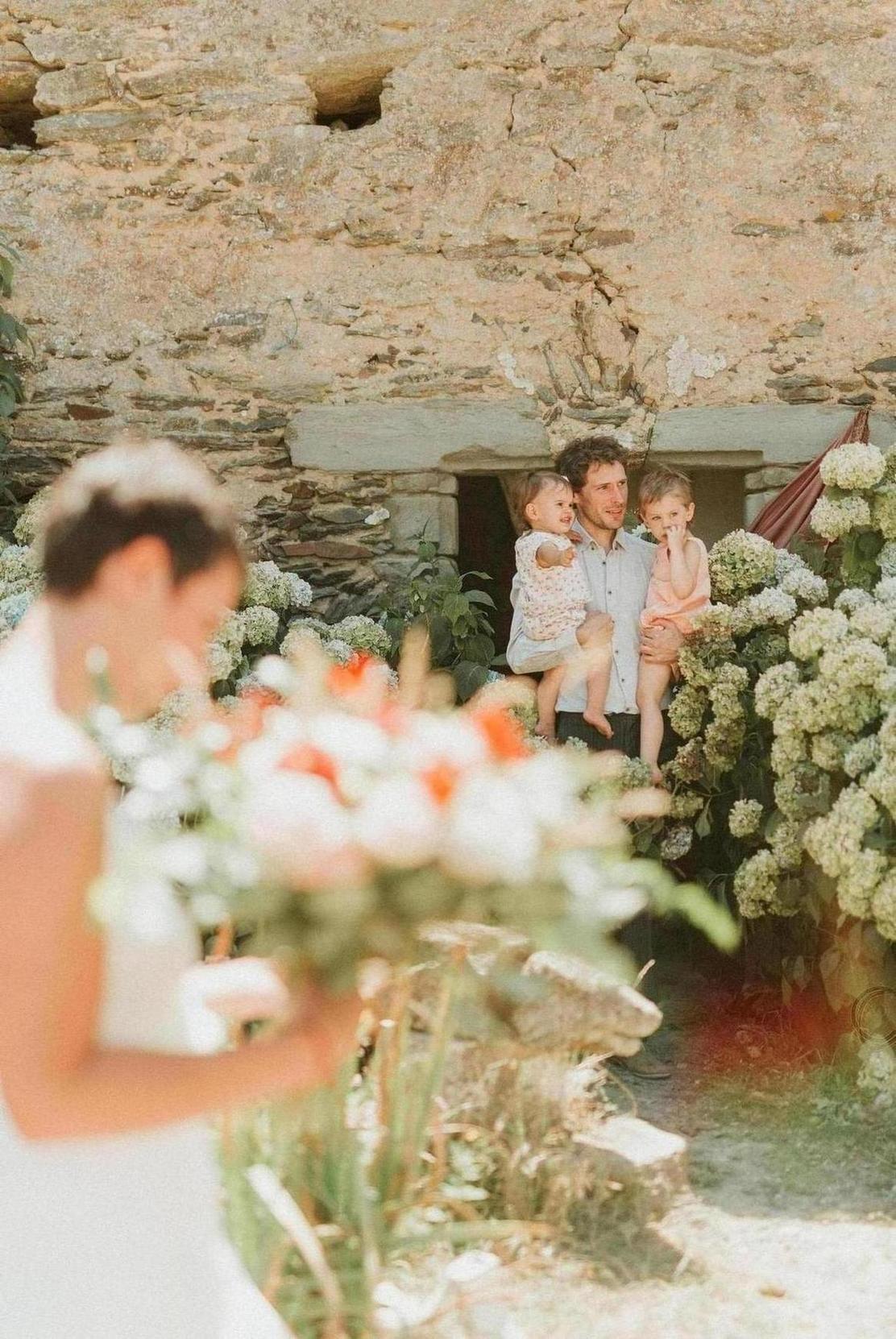 bouquet de mariee fleuriste angers chateaubriand mariage