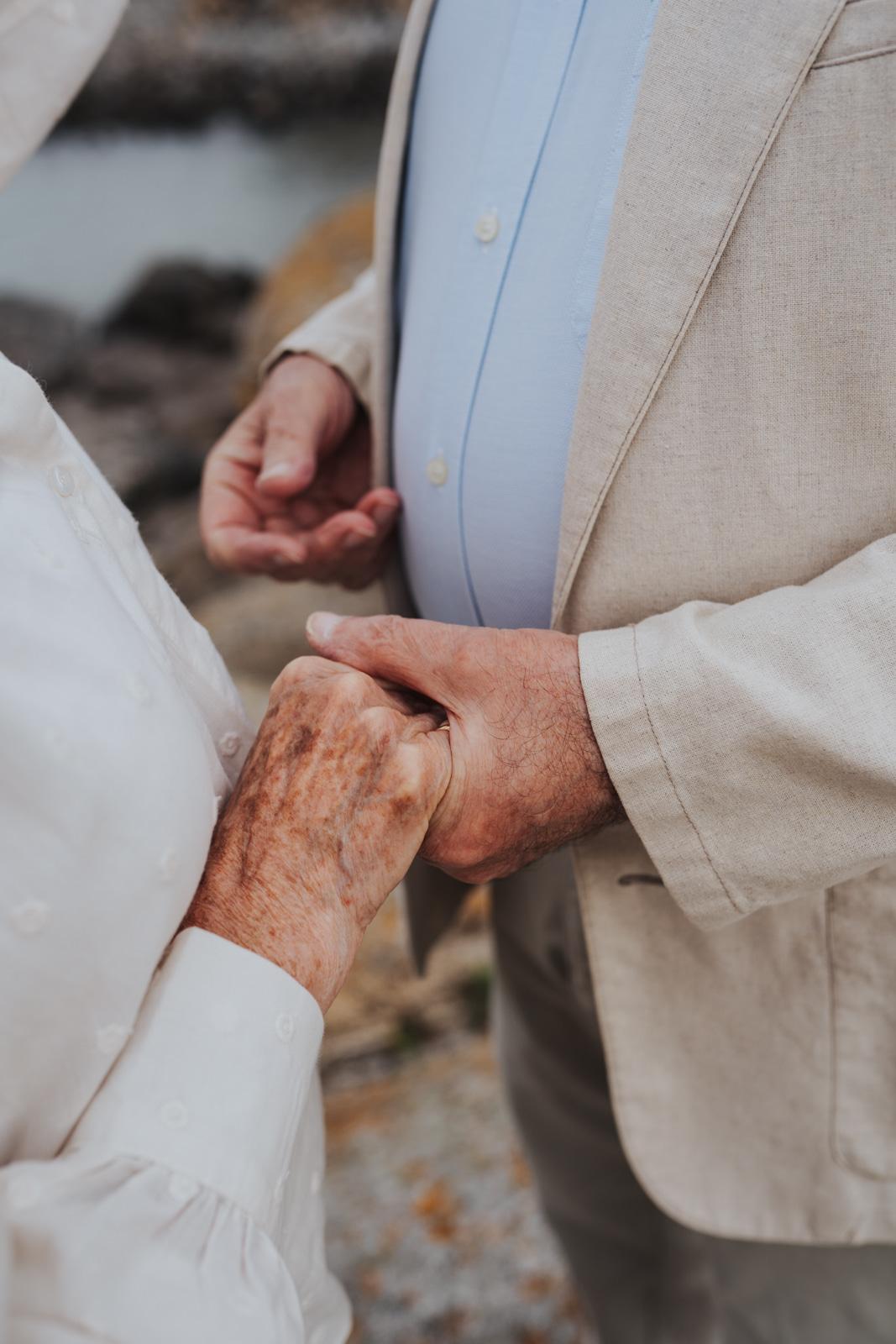 renouvellement voeux mariage séance photos grands parents