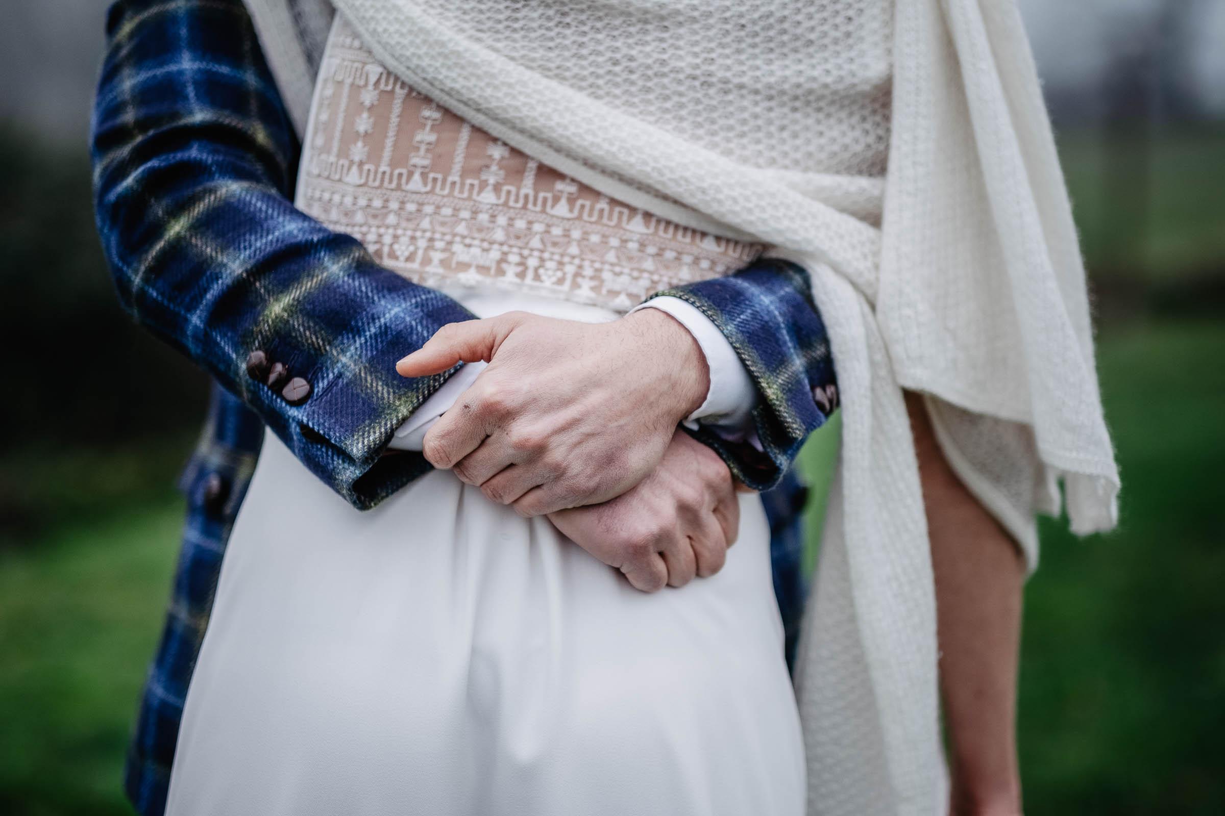 photo couple mariage hivernal nantes rennes