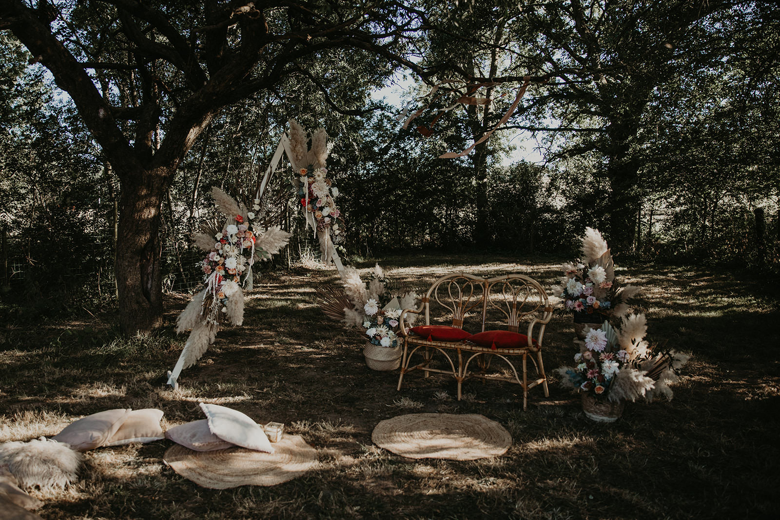 idee decoration mariage ecoresponsable boheme rennes