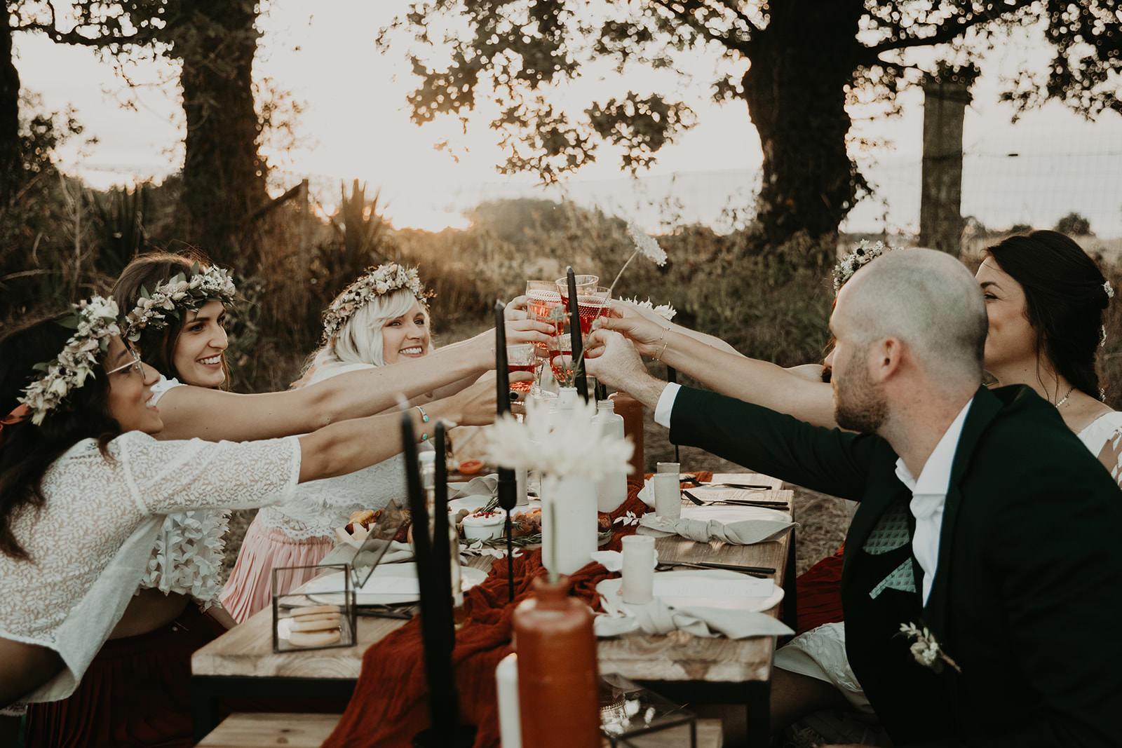 diner de mariage ecoresponsable bretagne ile et vilaine
