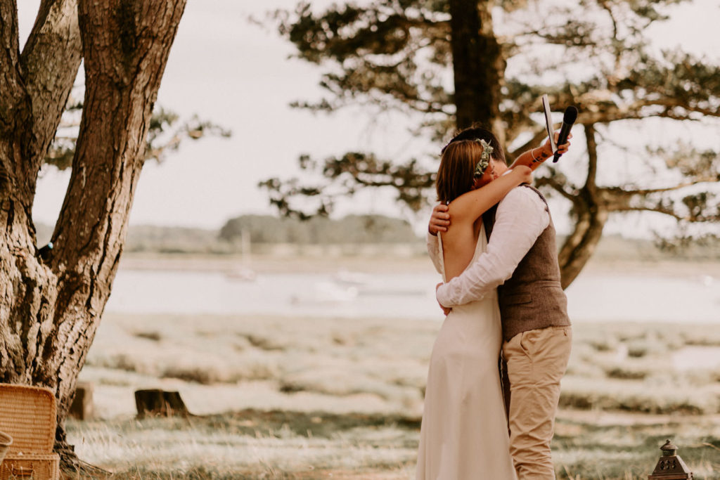 mariage naturel boheme Morbihan