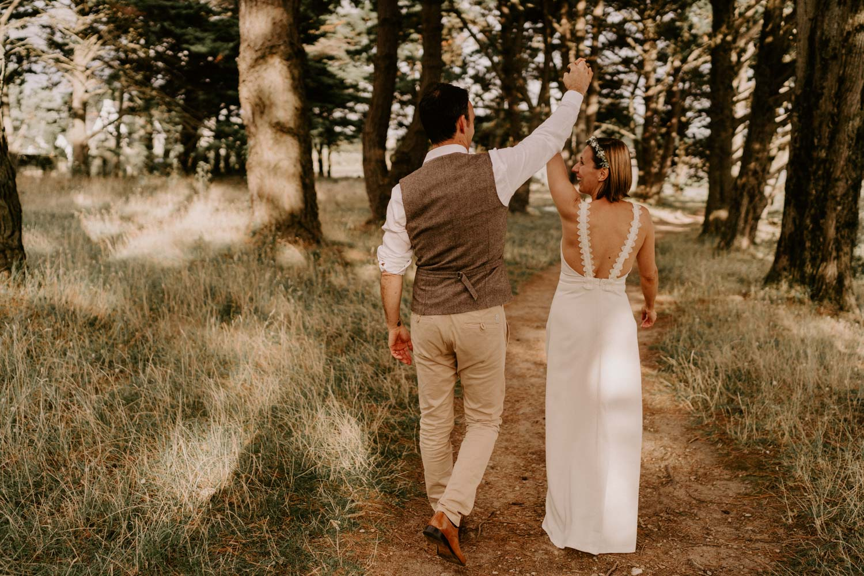 robe de mariage simple élégante longue moderne mariage
