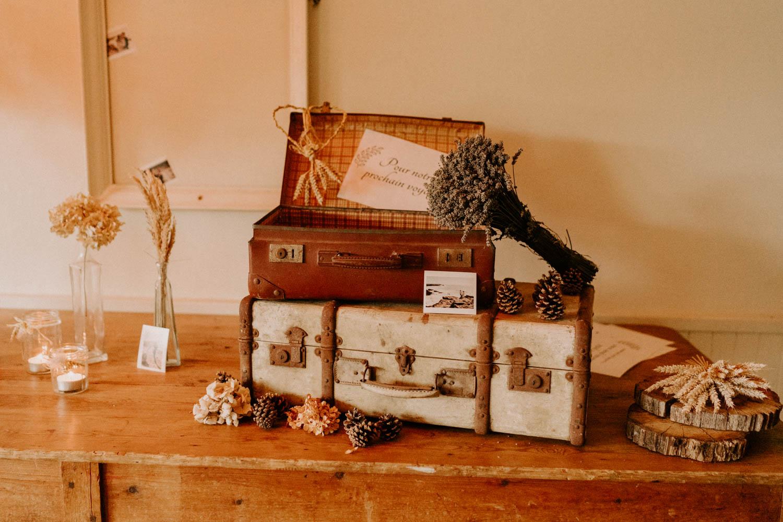idee decoration mariage boheme naturel morbihan cagnotte voyage