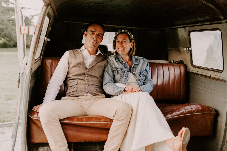 mariage naturel bohème Morbihan