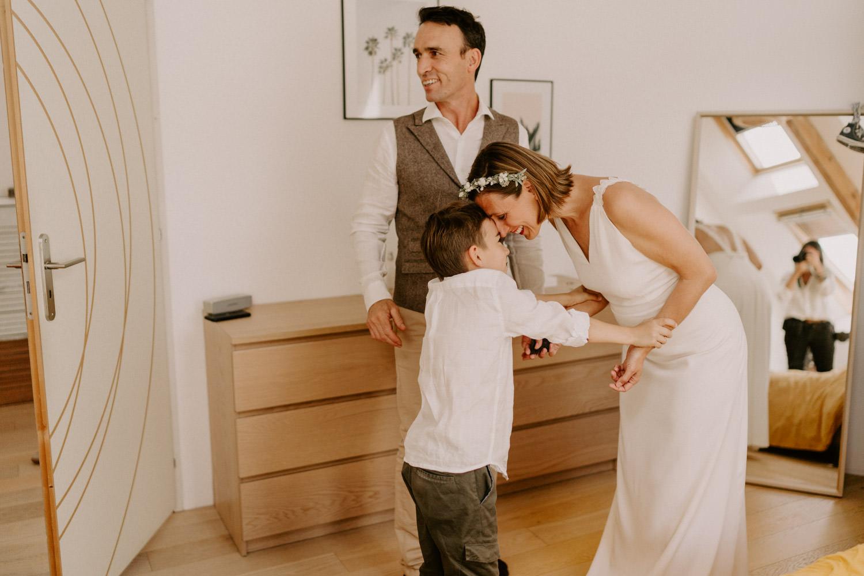 préparatifs mariés mariage morbihan