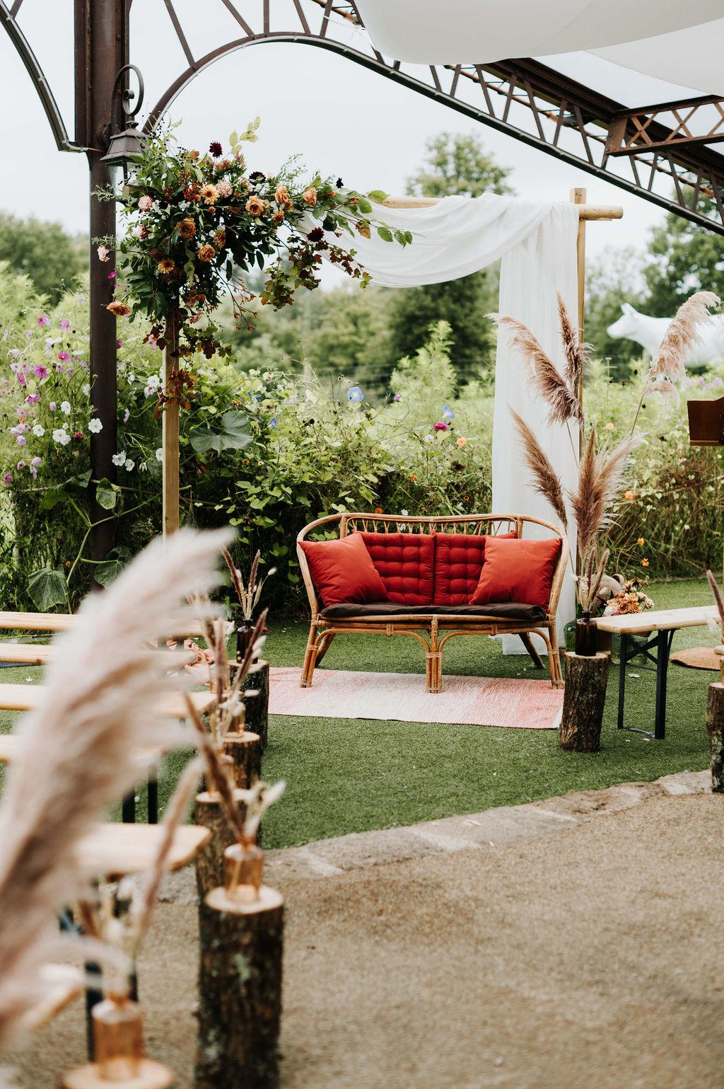 decoration mariage vendee fleuriste automne