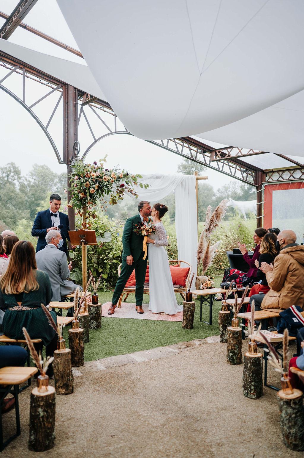 ceremonie laique vendee Mariage couleurs automne automnal
