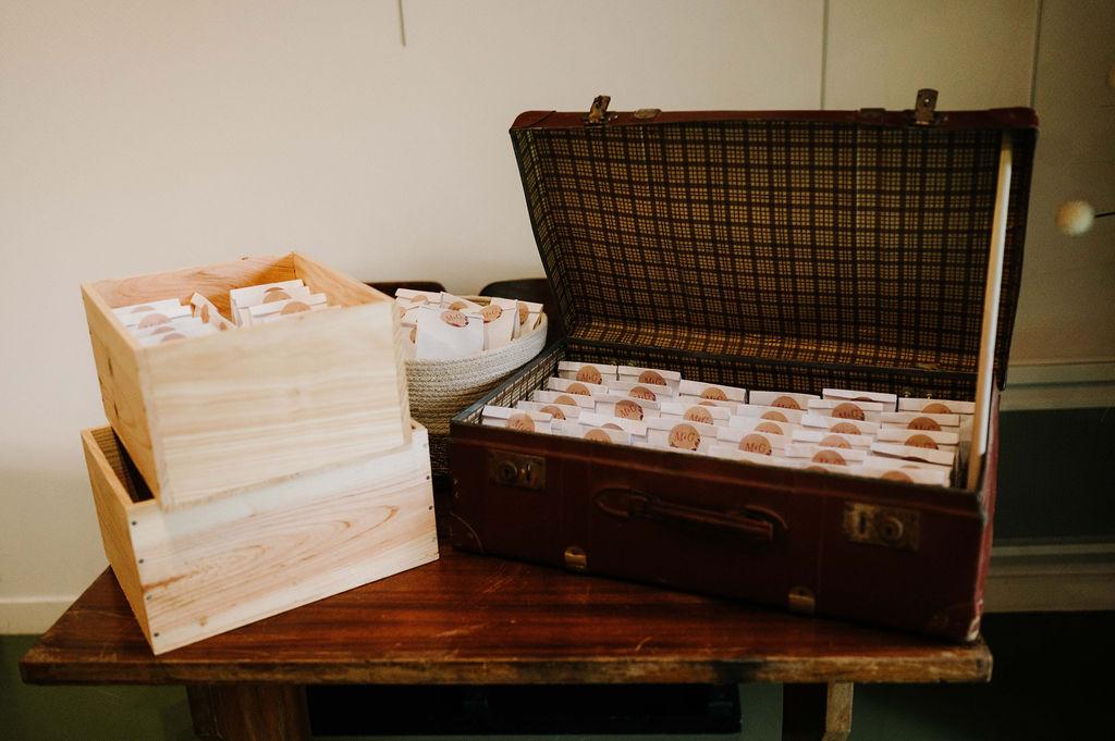 cadeaux d'invites mariage automnal vendee