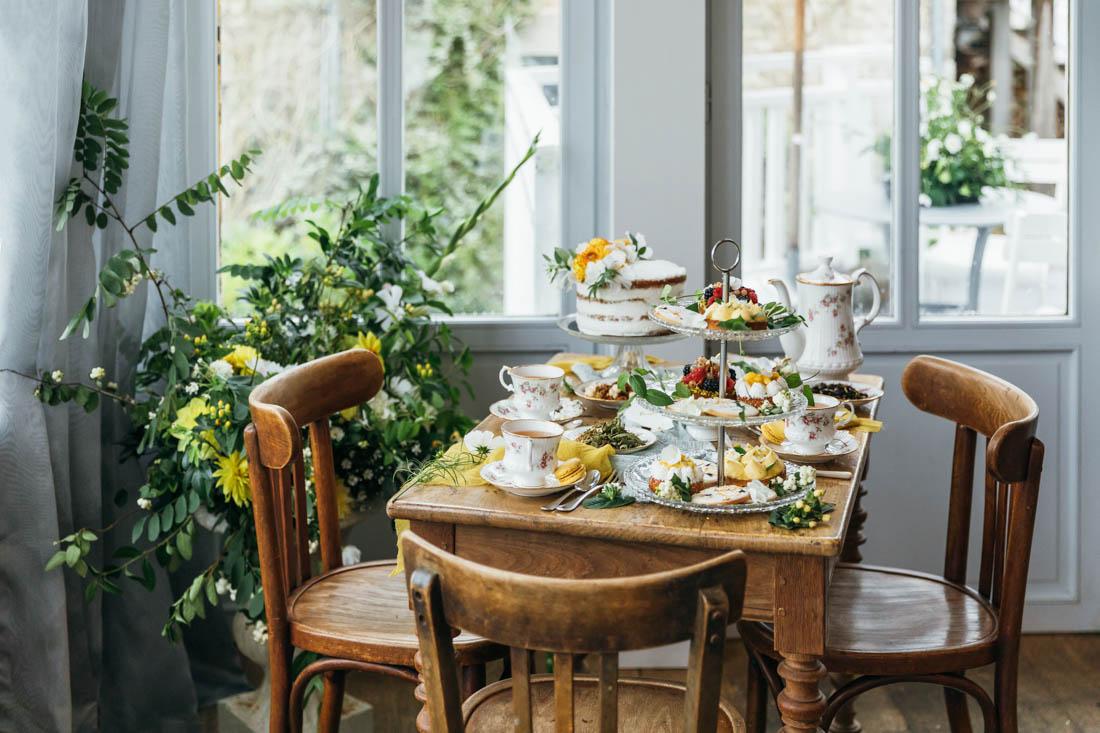table a gâteaux mariage bretagne